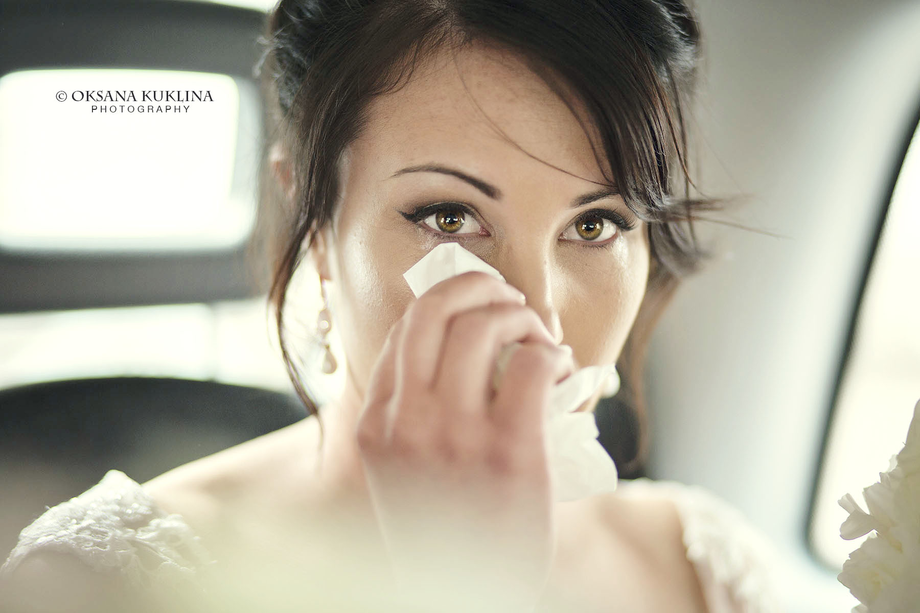 Happy tears by © Oksana Kuklina wedding photography