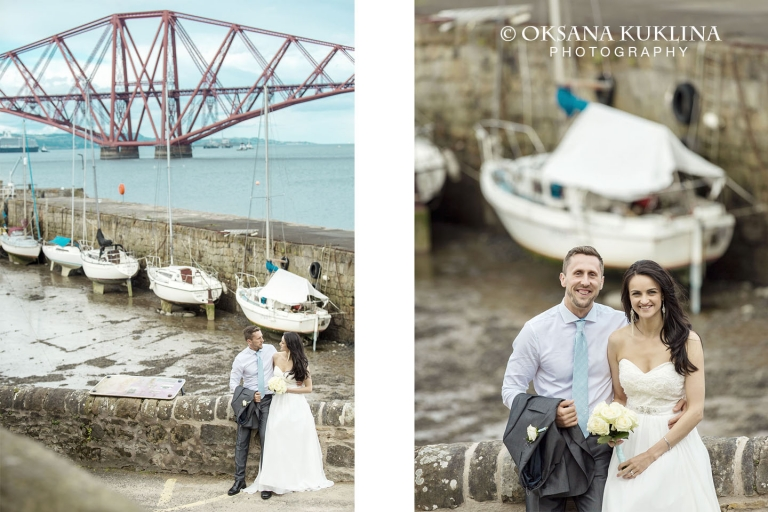 Maria Mindaugas Private Wedding In South Queensferry Near Forth Bridge By C Oksana Kuklina Photography