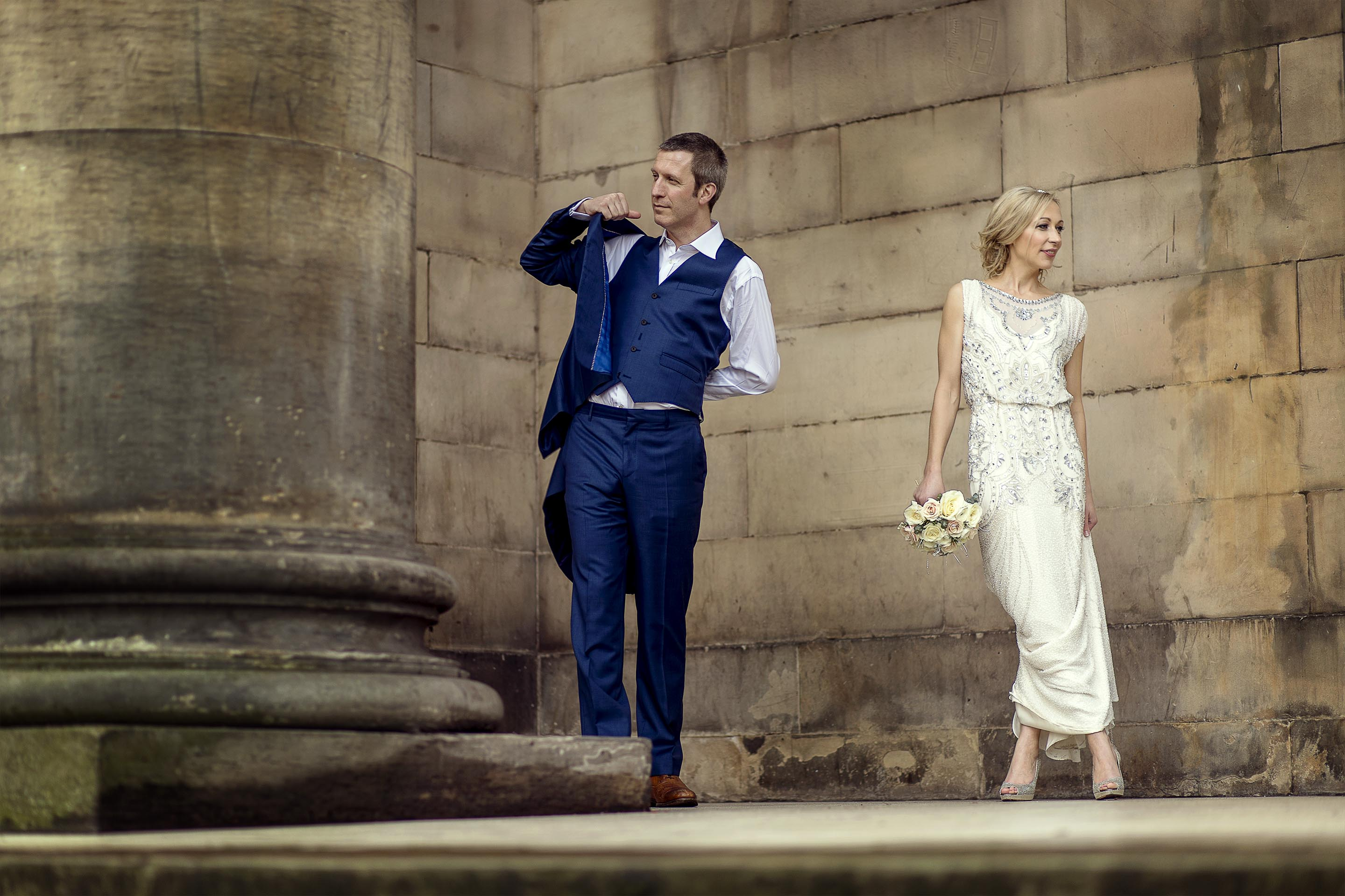 Edinburgh wedding photographer © Oksana Kuklina Photography