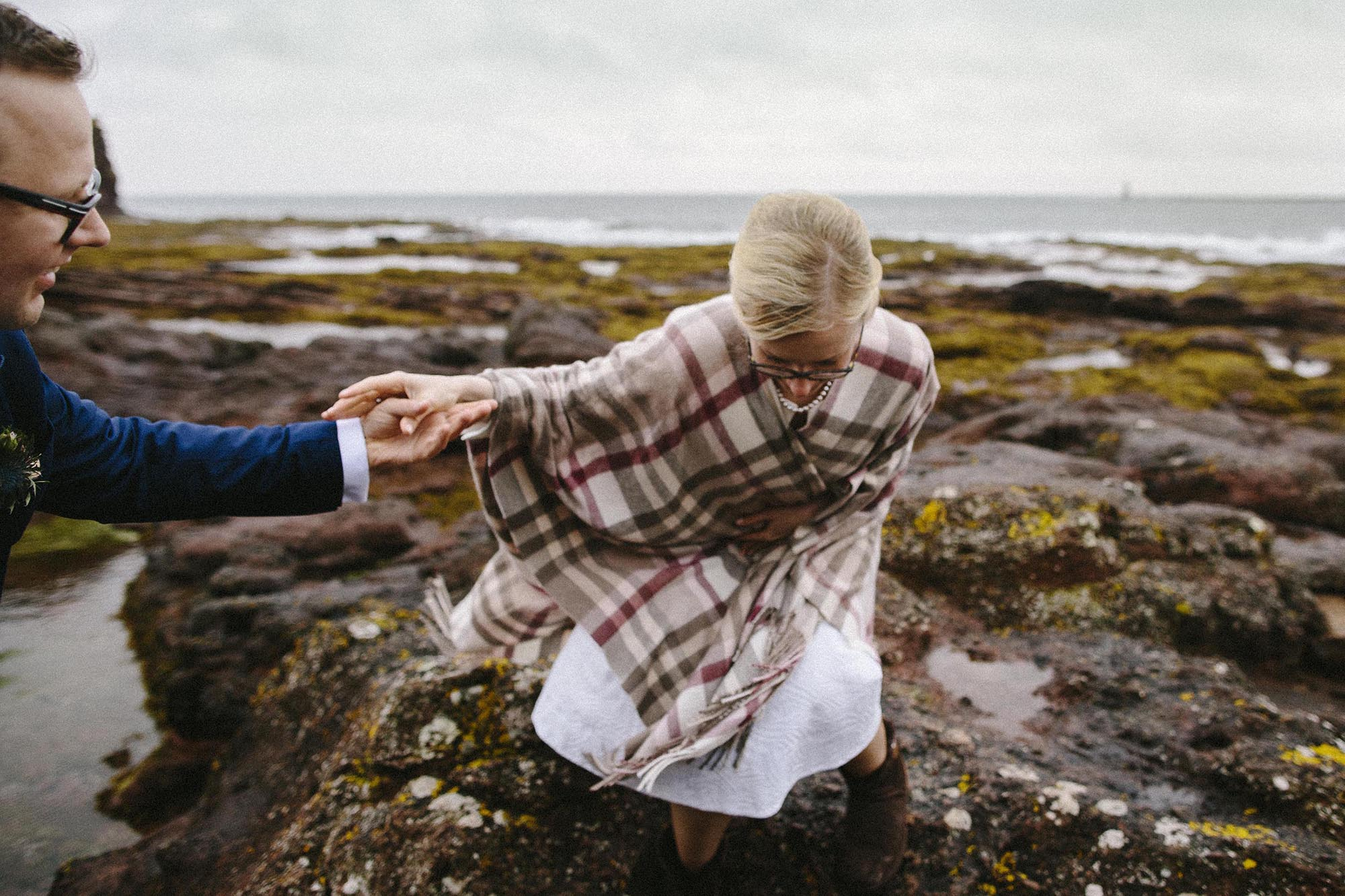 Scotland elopement by © Oksana Kuklina Photographer