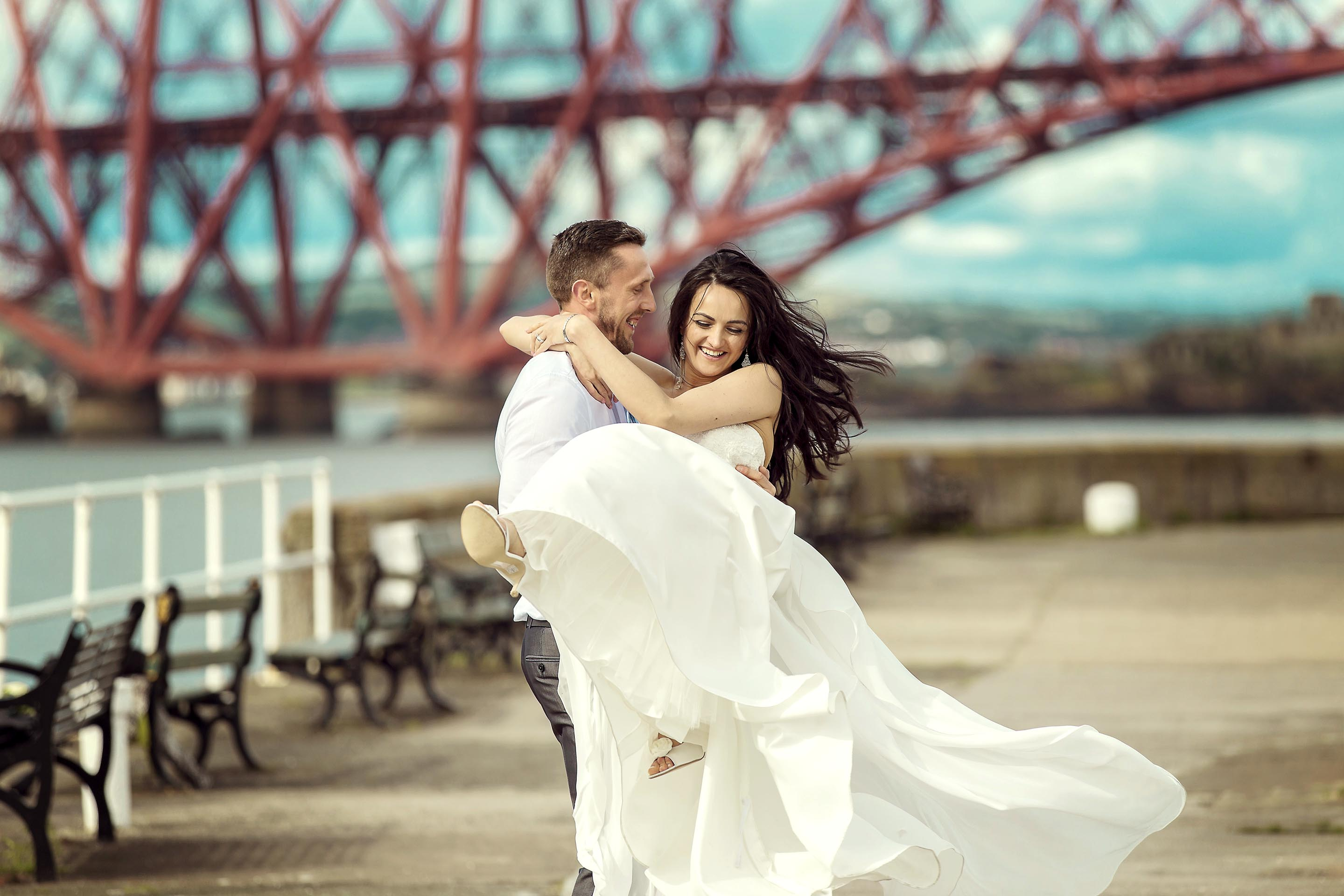 South Queensferry wedding photographer © Oksana Kuklina Photography